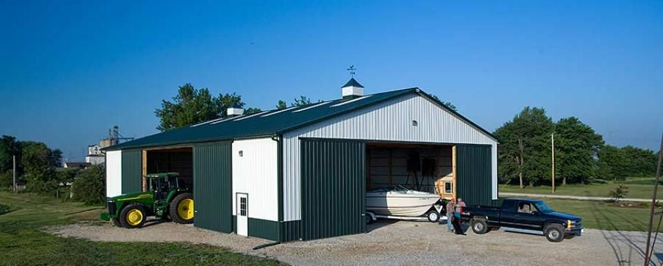 Farm building profile use cold storage building for farm for Pole barn for rv storage