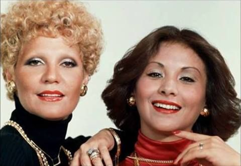 Las Actrices y Cantantes Venezolanas.. Mirla Castellanos y Mirtha Pérez en los 70.