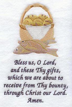 prayer before meals prayers
