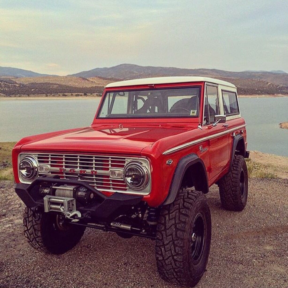 Ford Bronco, Old Ford Bronco