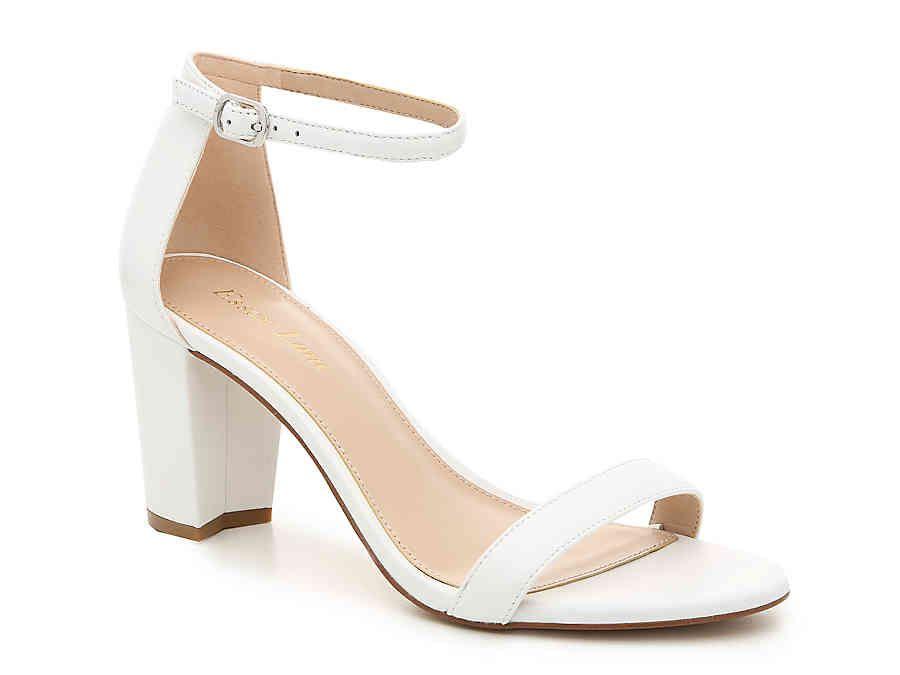 a58e17e7ab Women Moira Sandal -White Leather in 2019 | Wedding shoes | Shoes ...