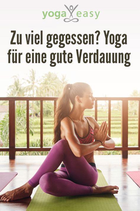 Zu viel gegessen? Yoga für eine gute Verdauung