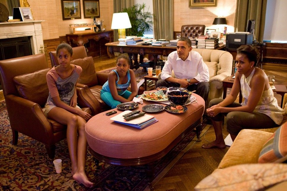 The Obamas--they're just like us! @Emily Brooke