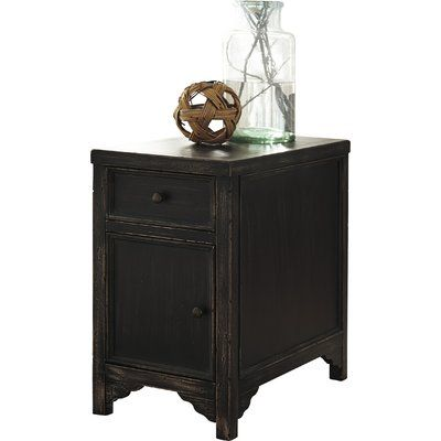 Beachcrest Home Golinda End Table With Storage End Tables End
