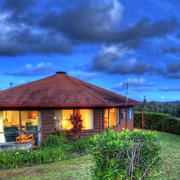 Whispering Pines Cottages Offering lovely valley views ...