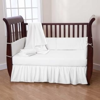 Basic solid color crib bedding sets for those seeking simplicity ...