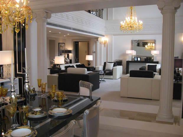 Versace Home - Interior design Interiors Pinterest Wohnzimmer - designer wohnzimmer schwarz