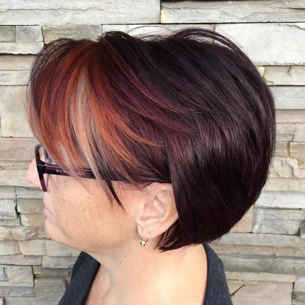best modern haircuts u hairstyles for women over red bangs