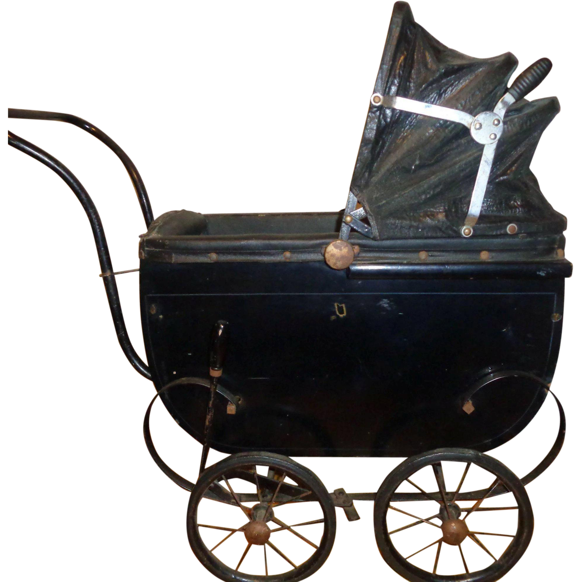 Rare Effanbee Dy Dee Baby Buggy Carriage 1930s Documented See Ref Pic