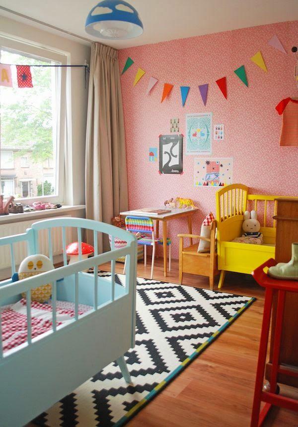 Chambre Enfant Jaune