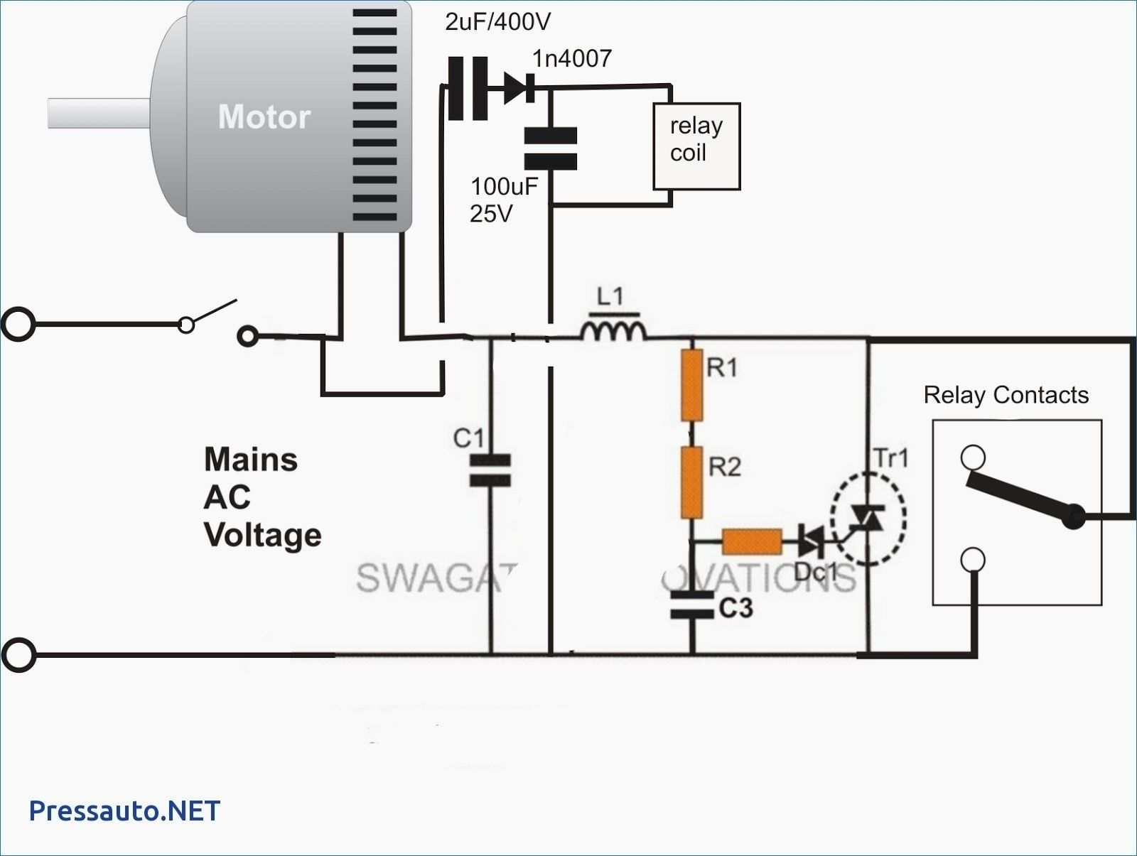 Unique Nema Contactor Wiring Diagram Diagram