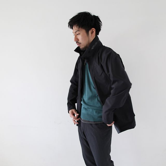 Arc Teryx Veilance Field Jacket Lt Silver And Gold