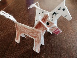 Fun with kids--> Easy to make paper ponies!
