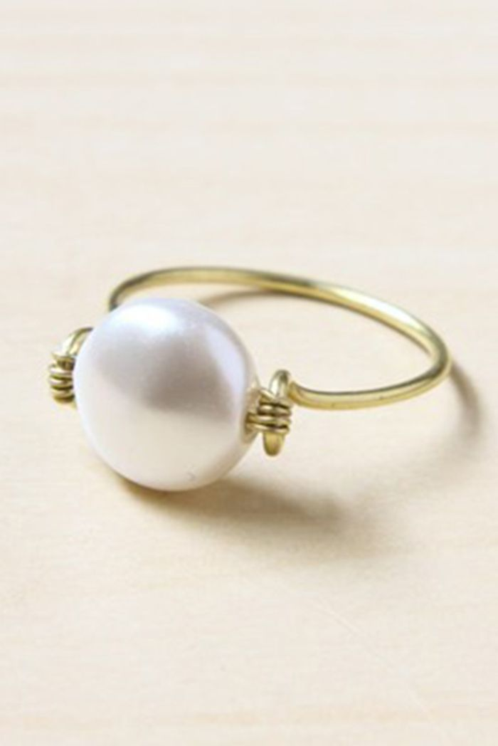 5 ways to make wire wrapped rings   Wire wrapping, Wraps and Ring