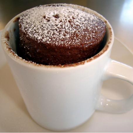 #Mug #Cake al #cioccolato http://www.tribugolosa.com/ricetta-68791-mug-cake-al-cioccolato.htm