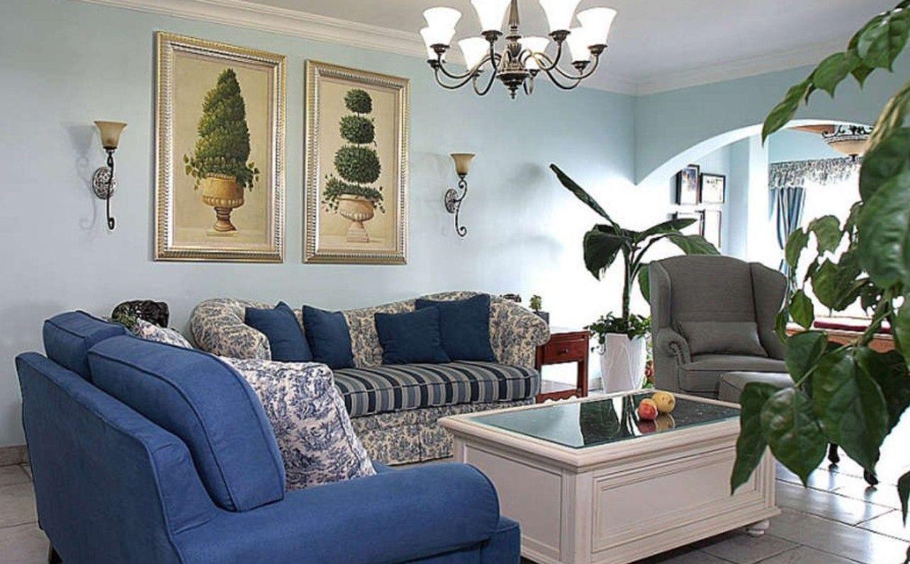 Light Blue Living Room Walls