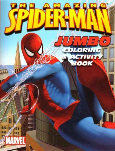 The Amazing Spider Man Jumbo Coloring Activity Book Assorted Coverart By Bendon Publishing 1 47 All Ages Coloring Books Color Activities Coloring Pages