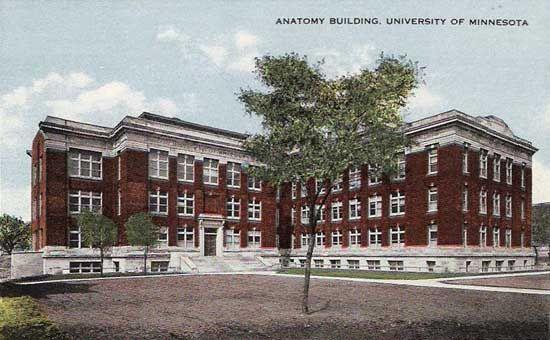 Anatomy Building University Of Minnesota Minneapolis Mn Image