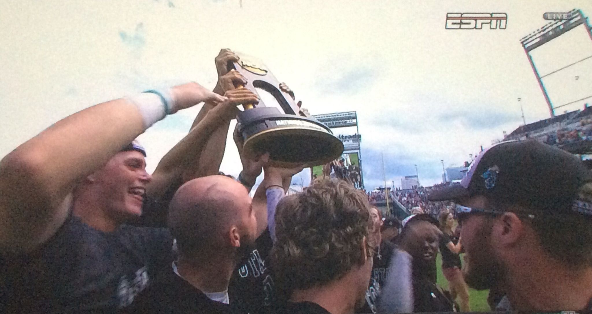 That's the trophy...