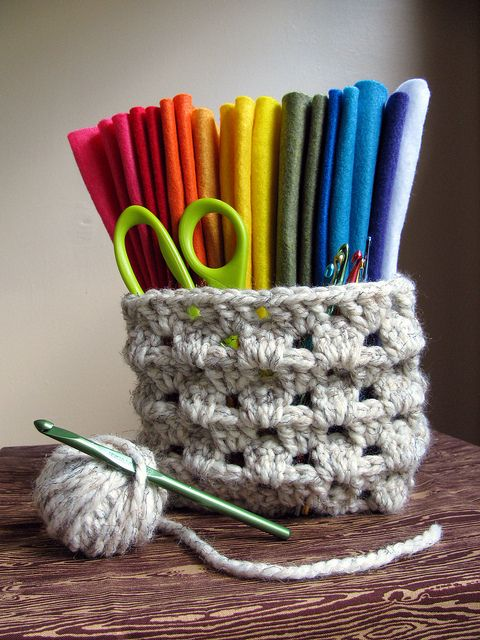 crochet granny basket sacs paniers etc crochet tricot. Black Bedroom Furniture Sets. Home Design Ideas