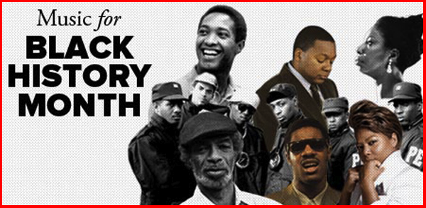 Image result for black history month music