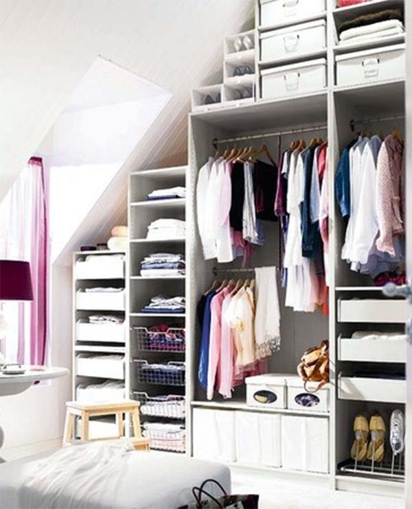Best Creative Decorating Ideas For Under The Stairs Closet Clothes Storage Bedroom Storage Ideas 640 x 480