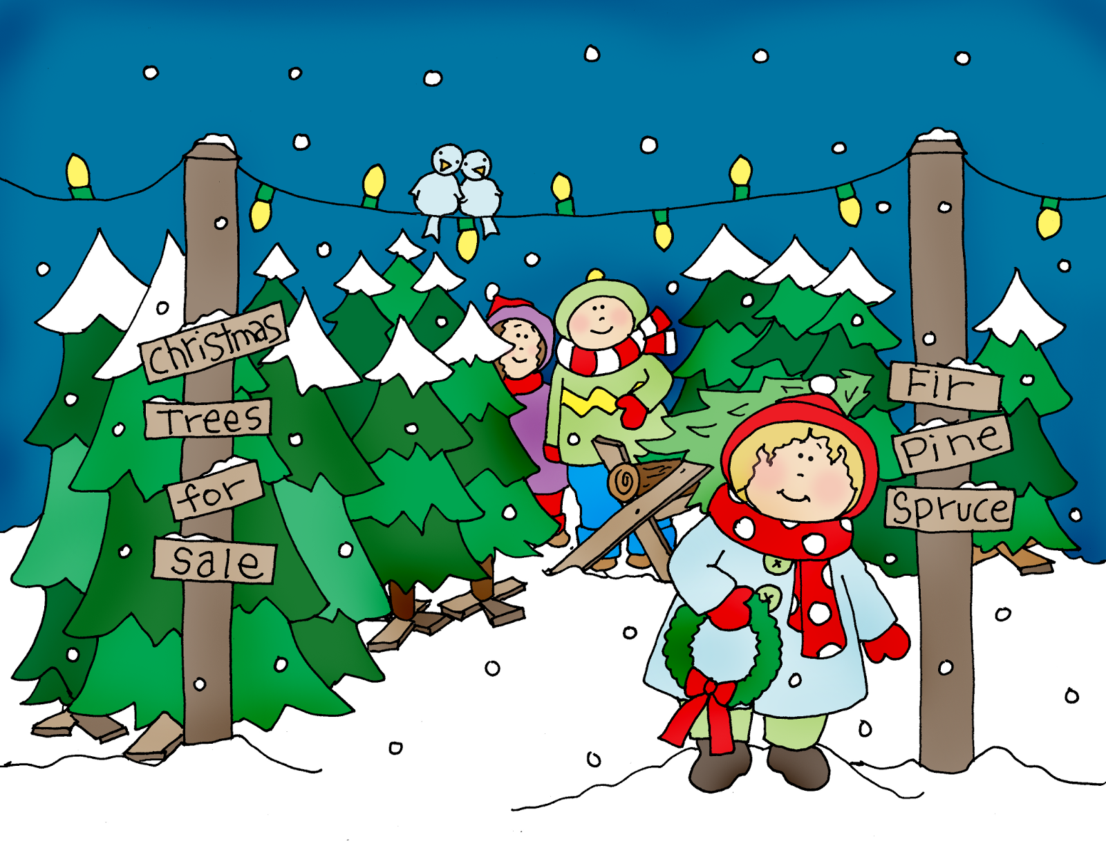 Free Dearie Dolls Digi Stamps Christmas Tree Lot Christmas Tree Lots Christmas Tree Digi Stamps