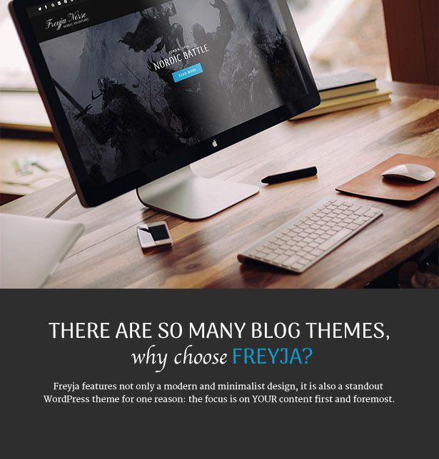 Download Freyja – Personal WordPress Blog Theme (Personal
