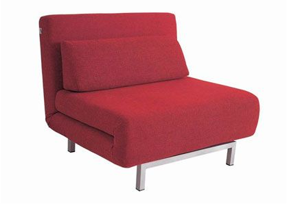 Convertible Red Fabric Chair Bed Lk06 By Ido Futon Sofa Chair Bed Chair Fabric