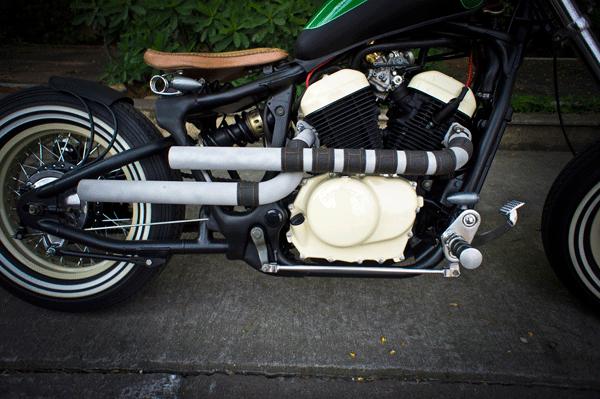 Yamaha Virago 250 cc Bobber Motorcycle Pipes & Yamaha Virago 250 cc Bobber Motorcycle Pipes | Yamaha Virago 250 ...