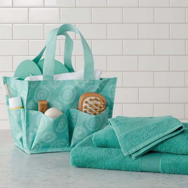 PB Teen Bath Beauty Set, Sunburst Stamp, Navy At Pottery Barn Teen  .