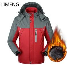 4c5b2f6e5061 LIMENG Jacket Military Tactical Men Winter Autumn Thicken Jacket Soft Shell  Waterproof Windproof Men Mountain Wear Outdoor Jackets Windbreaker Thicken  ...
