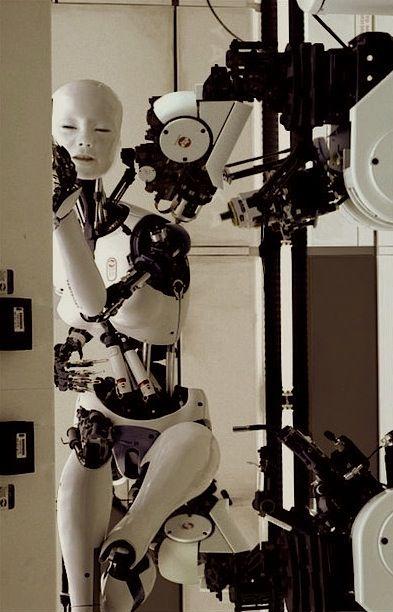 Deckard S Depot Cyborgs Art Futuristic Robot Ghost In The Machine