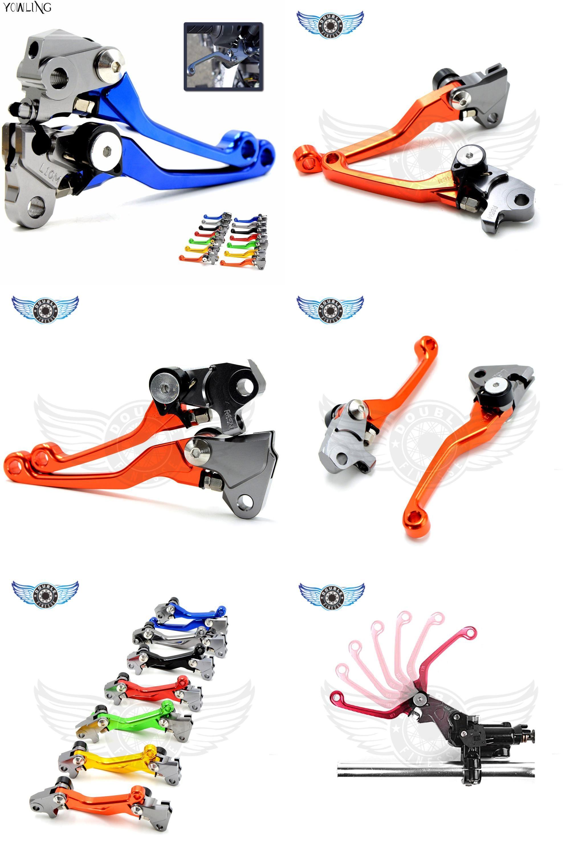 [Visit to Buy] CNC Pivot Brake Clutch Levers for Yamaha YZ 125 250 250F 426F 450F Kawasaki KX 125 250 250F 450F for Suzuki RMZ250 #Advertisement