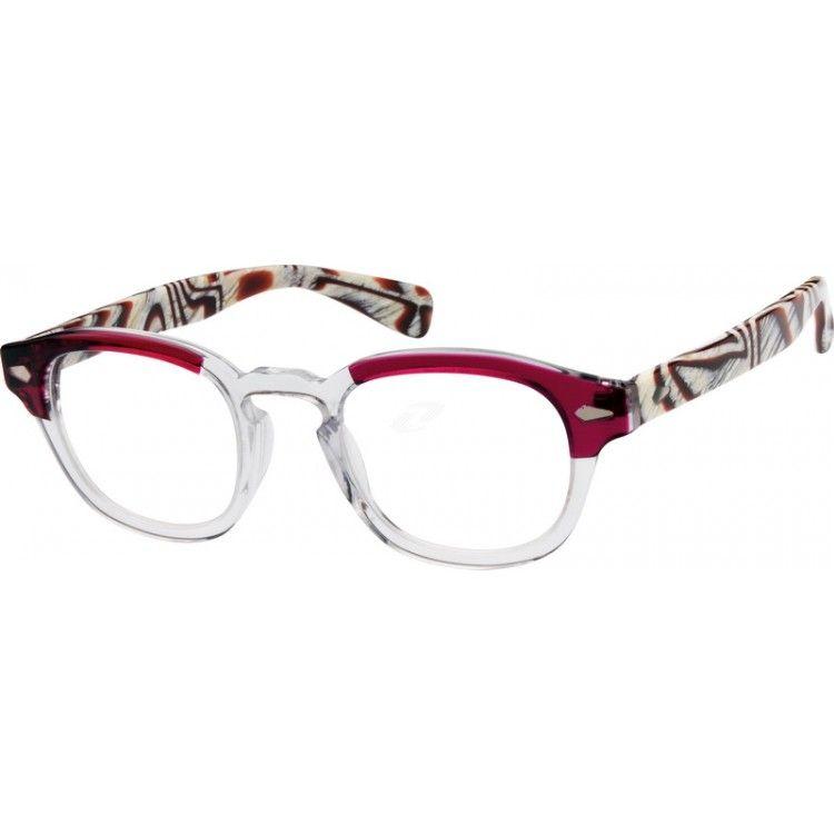 Purple Acetate Full-Rim Frame #606518   Zenni Optical Eyeglasses