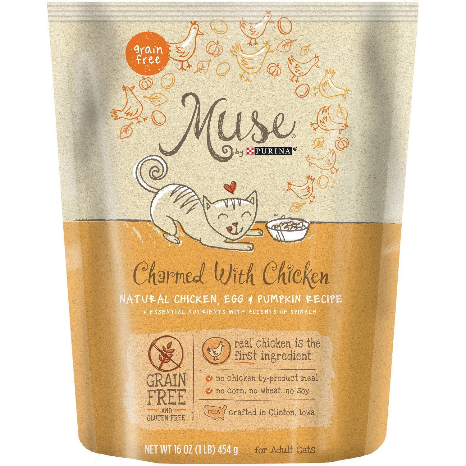 Muse Natural Dry Cat Food You Can Find More Details By Visiting The Image Link This Is An Amazon Affiliate Dry Cat Food Natural Chicken Grain Free Dog Food
