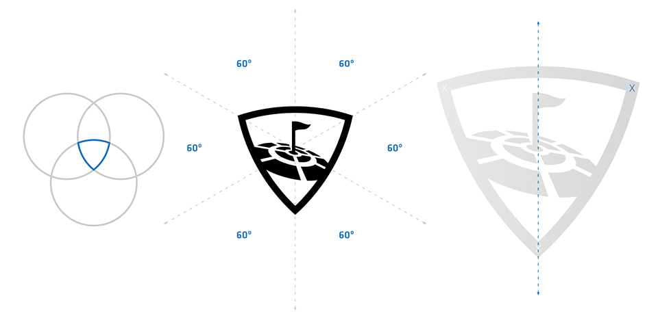 Brand New New Logo For Topgolf Done In House Logos Design Process Notes