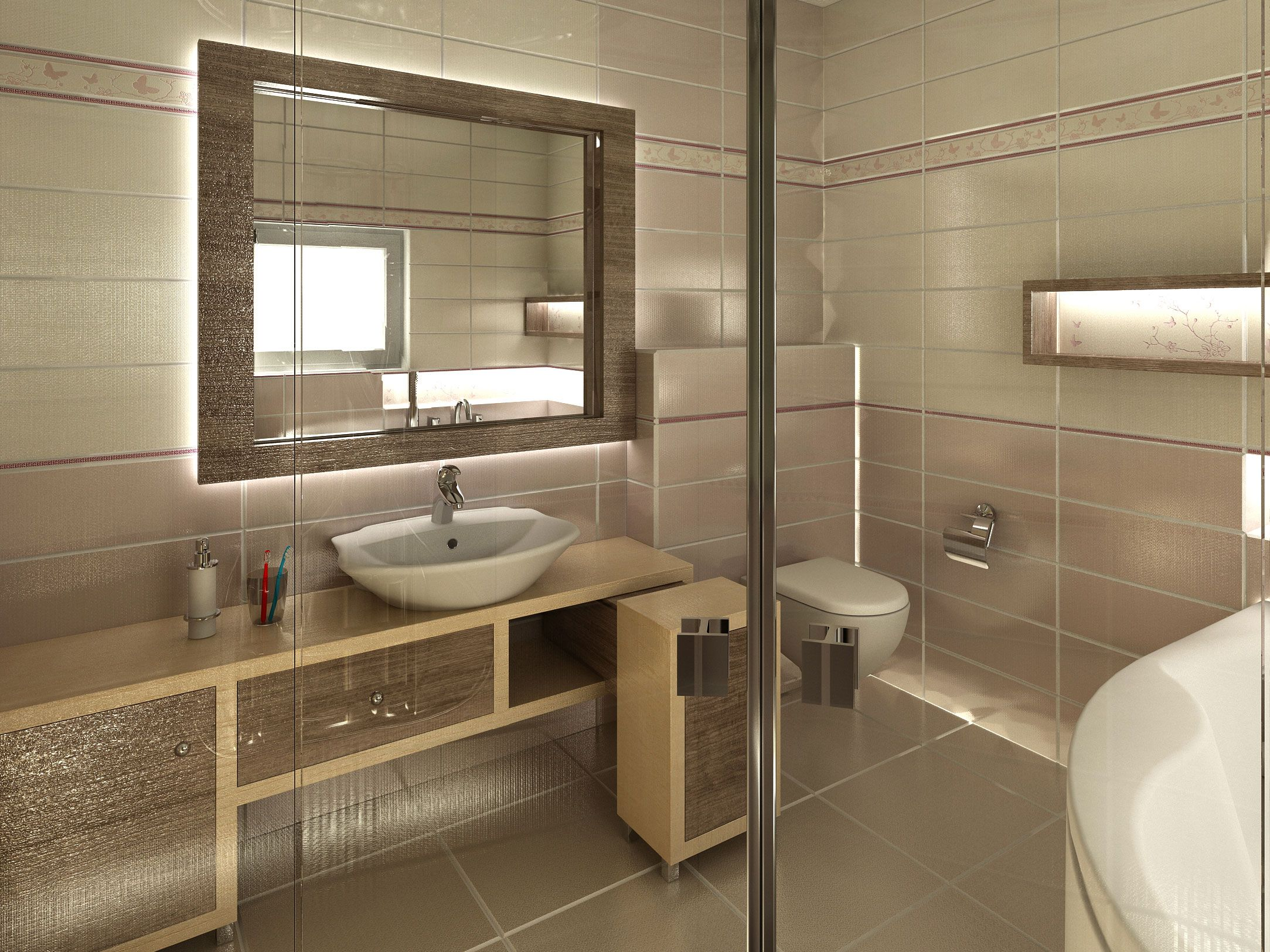 Bathroom Interiors Bathroom Interior Design Made Of Zorka Keramika Tiles Orion