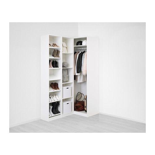 pax corner wardrobe white flisberget light beige pax ideas pinterest corner wardrobe. Black Bedroom Furniture Sets. Home Design Ideas