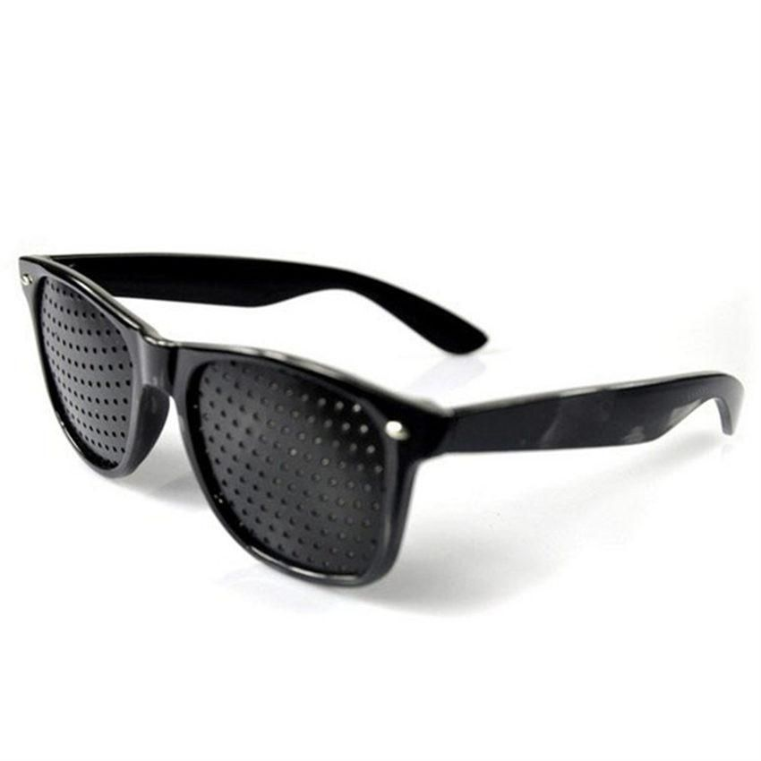 Anti-myopia Pinhole Glasses Women Men Pin Hole Sunglasses