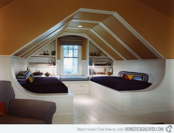 10 Attic Bedroom Ideas 2020 Creative And Awesome Attic Bedroom Designs Attic Remodel Attic Loft