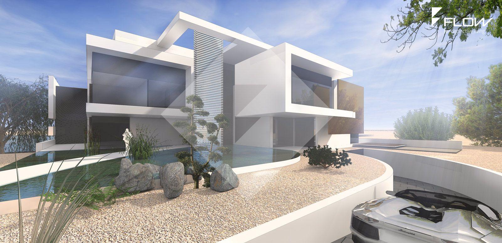 Moderne Mehrfamilienhäuser Bilder mehrfamilienhaus entwurf in moderner architektur design by flow