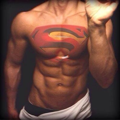 Pin By Kimberly Lorraine On Funny Lol Superman Tattoos Tattoos For Guys Badass Superman