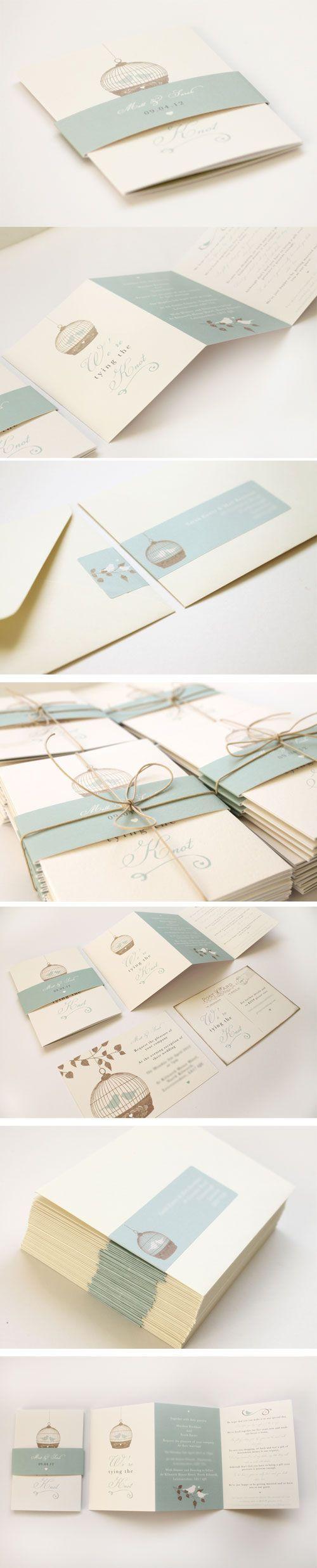 birdcage wedding invitations by studio seed | Invitations ...