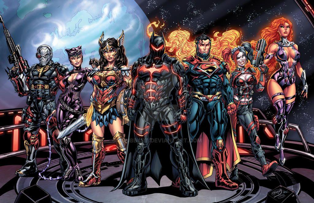 Injustice 2 Lineup Colors V2 By Cdubbart On Deviantart In 2021 Injustice 2 Injustice Superhero