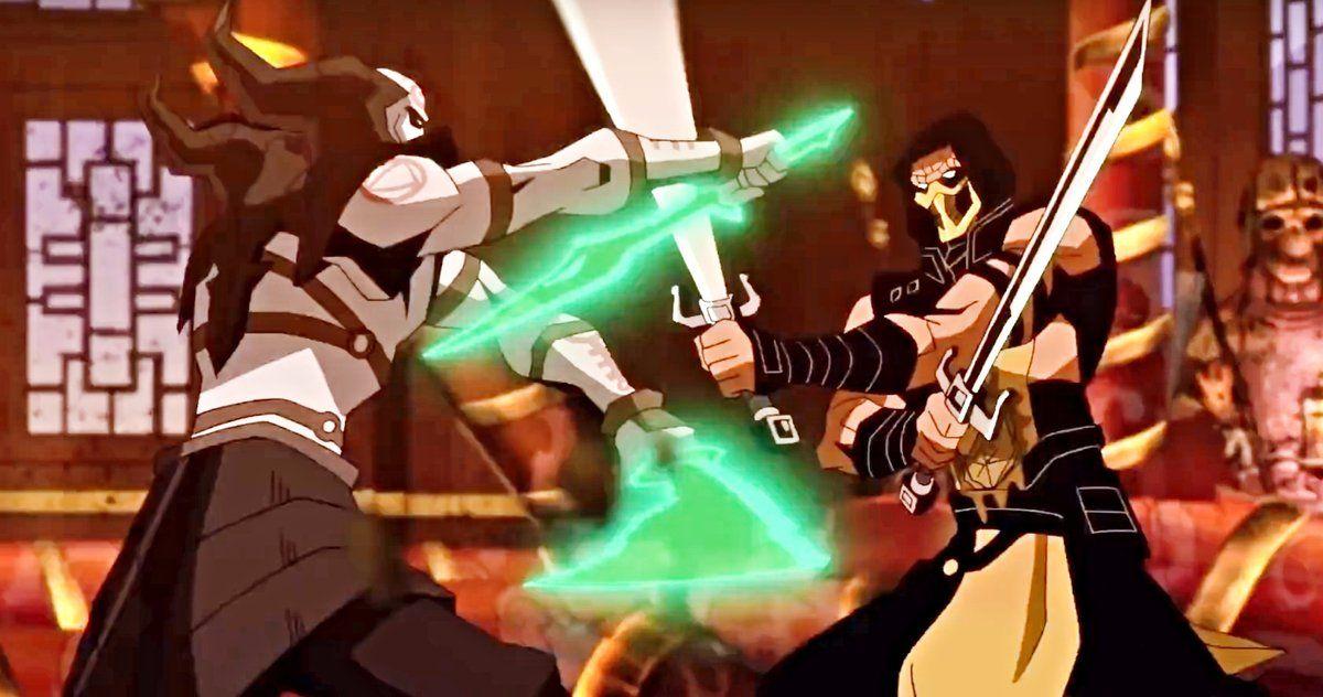 Mortal kombat legends scorpions revenge trailer brings