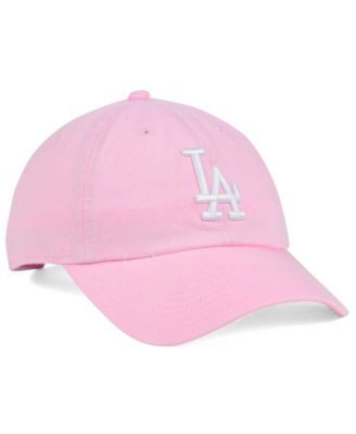 b0b544f61f684  47 Brand Women s Los Angeles Dodgers Pink White Clean Up Cap - Pink  Adjustable.