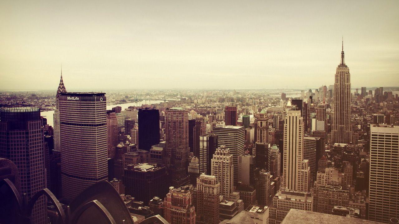 New York Mac wallpaper, Macbook pro wallpaper, Skyline
