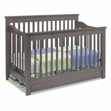 Davinci Piedmont 4 In 1 Convertible Crib In Slate Free Shipping Cribs Convertible Crib Baby Cribs
