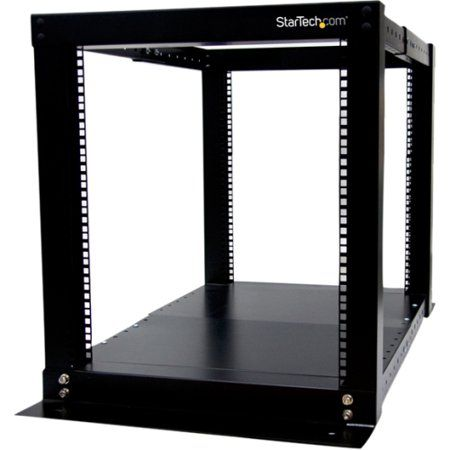 Startech 4postrack12 12u Adjustable 4 Post Server Equipment Open Frame Rack Cabinet Open Frame Server Rack Cabinet Colors